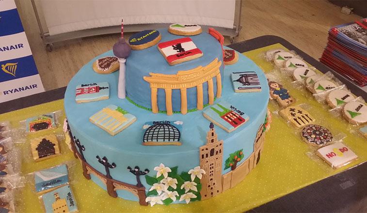 Cake 12 – Ryanair Berlin Schönefeld to Seville