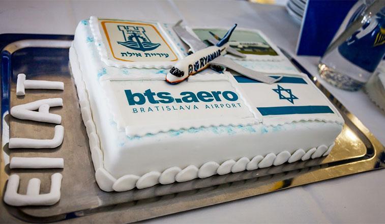 Cake 13 – Ryanair Bratislava to Eilat Ovda