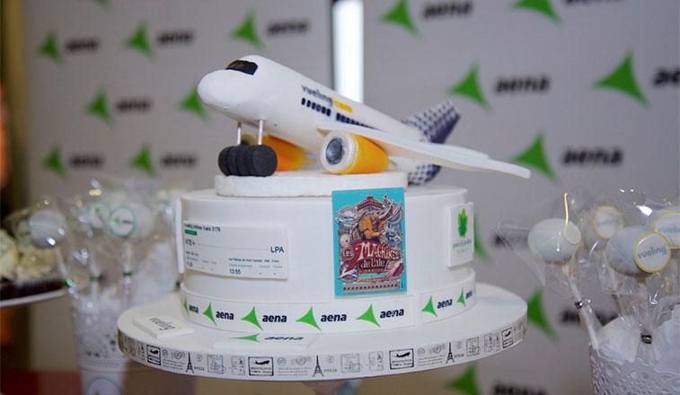 Cake 15 – Vueling Gran Canaria to Nantes