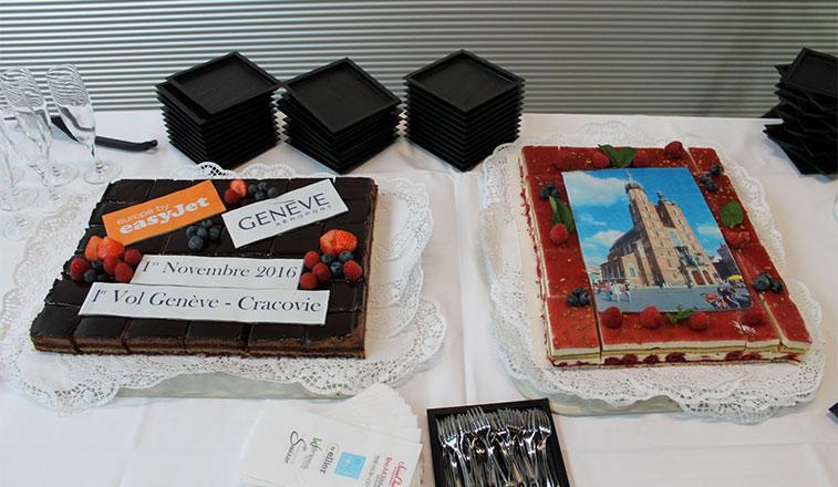 Cake 4 – easyJet Geneva to Krakow