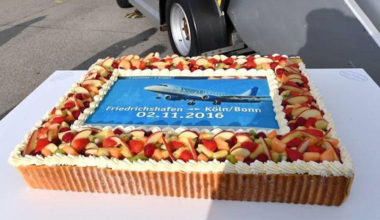 Cake 9 – People's Viennaline Friedrichshafen to Cologne Bonn
