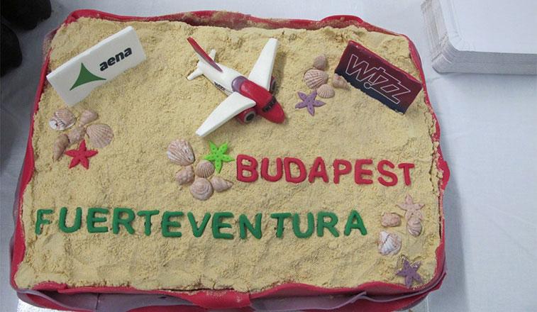 Cake 15 – Wizz Air Budapest to Fuerteventura