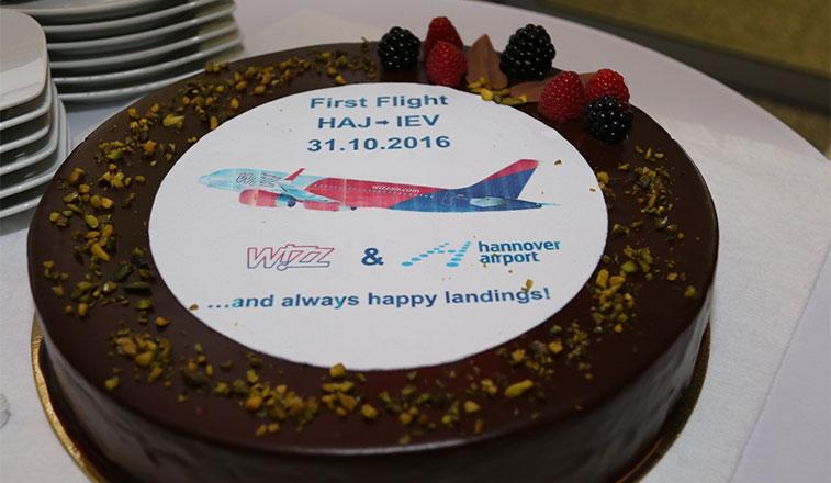Cake 16 - Wizz Air Kiev Zhulyany to Hannover