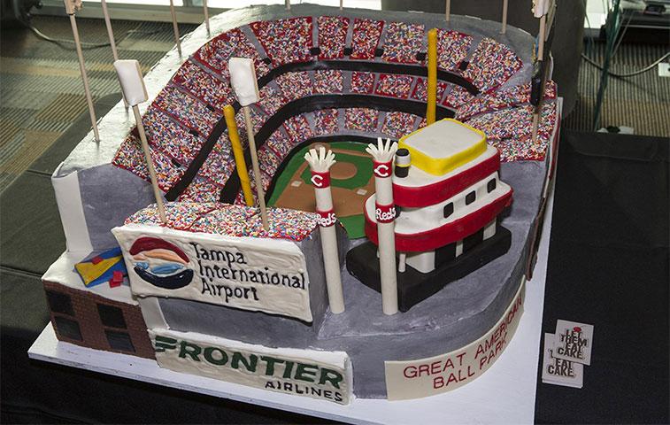 Cake 4 – Frontier Airlines Tampa to Cincinnati