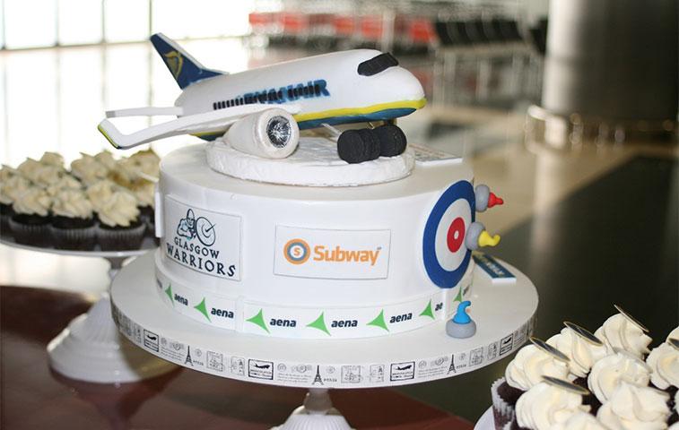 Cake 6 - Ryanair Glasgo w to Gran Canaria