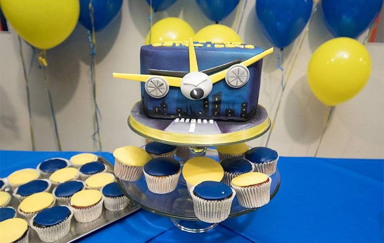 Cake 7 – Ryanair Malta to Vilnius