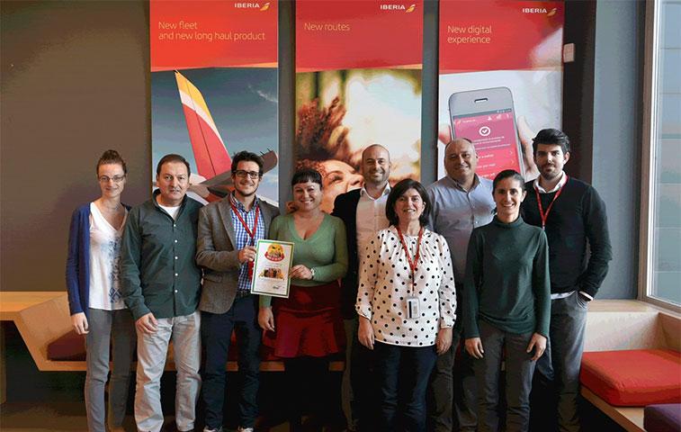 Iberia, Oslo Gardermoen, Manchester and Singapore celebrate awards -1