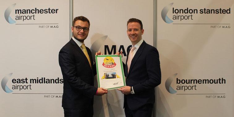 Iberia, Oslo Gardermoen, Manchester and Singapore celebrate awards