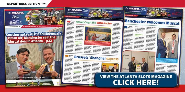 anna.aero World Tour 2016 continues: 139th IATA Slot Conference in Atlanta