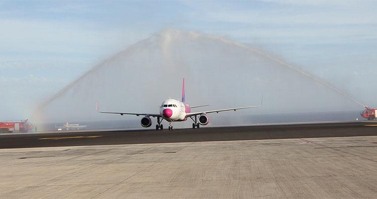 FTWA 10 – Wizz Air Budapest to Lanzarote