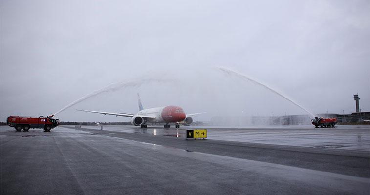 FTWA 8 – Norwegian Oslo Gardermoen to Las Vegas