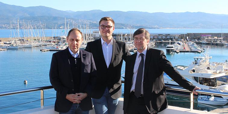 Air Corsica Ajaccio.