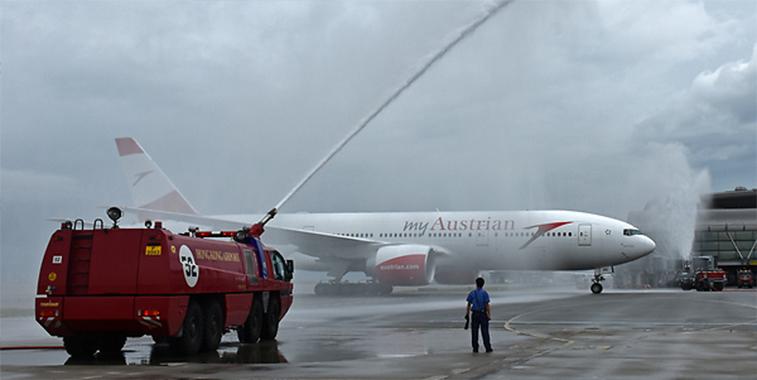 Austrian Airlines Hong Kong launch