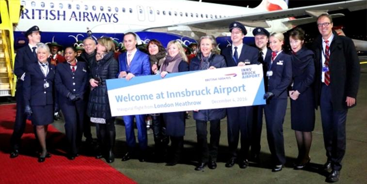 BA Innsbruck launch