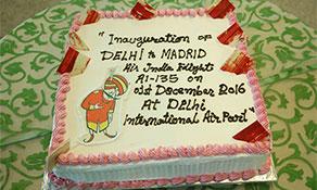 Air India celebrates India-Spain non-stop route