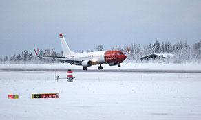 Norwegian enters Finnish territory