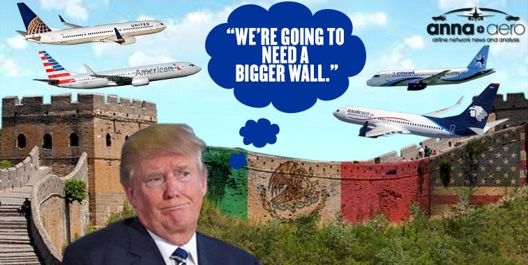 Donal Trump Mexico US wall