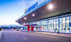 Chișinău International Airport – flying through a winter wonderland
