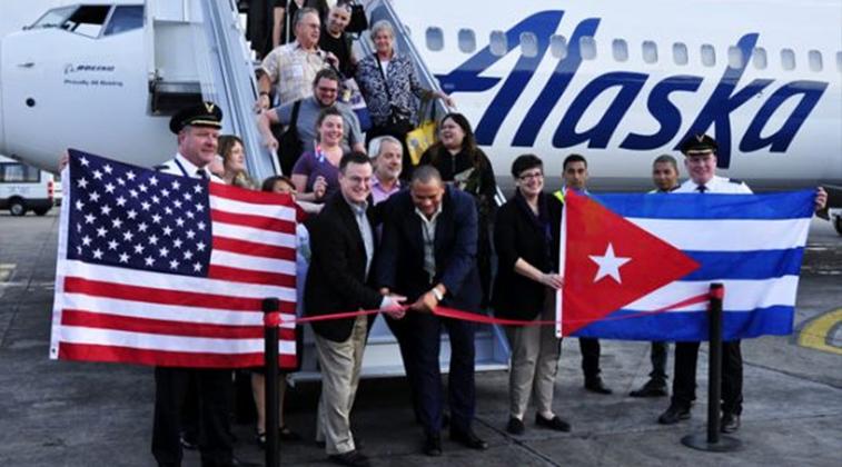 Alaska Airlines Havana