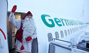Germania rides into Rovaniemi