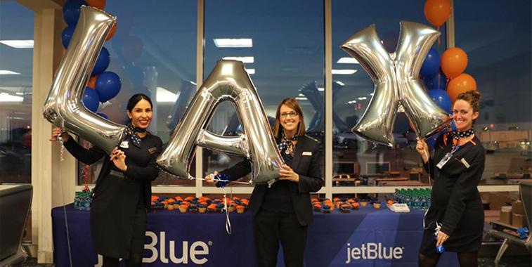 JetBlue Airways Orlando LAX