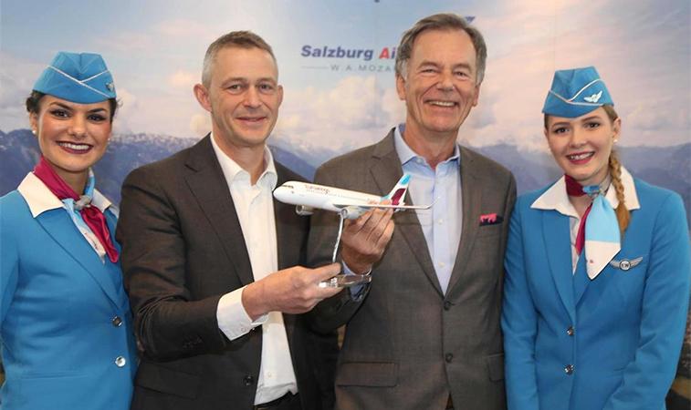 Salzburg Eurowings launch.