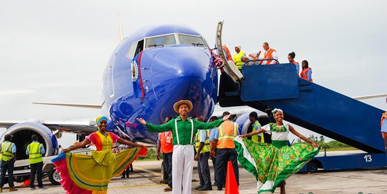 Houston Hobby Southwest Airlines Belize City