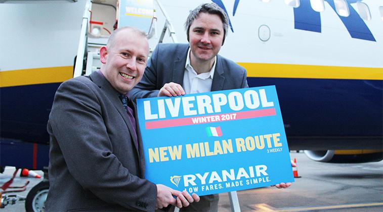 Liverpool Milan Malpensa Ryanair