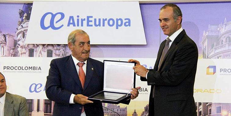 Air Europa starts Bogota route