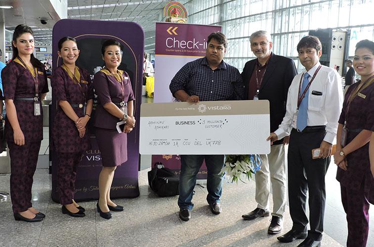 Vistara celebrates 3 million passengers
