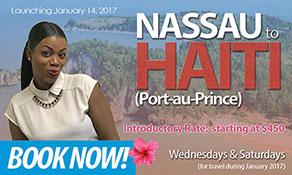 bahamasair pops into Port au Prince