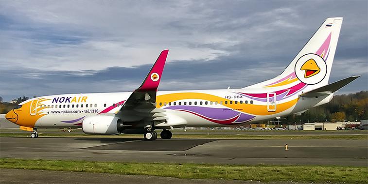Nok Air 737-800.