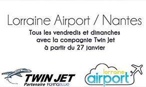 TWIN JET makes Metz-Nantes its next route