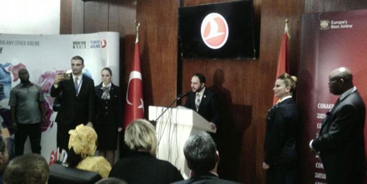 Turkish Airlines starts flights to Conakry