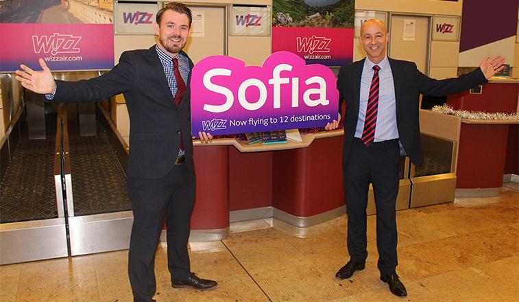 Wizz Air Sofia Doncaster launch