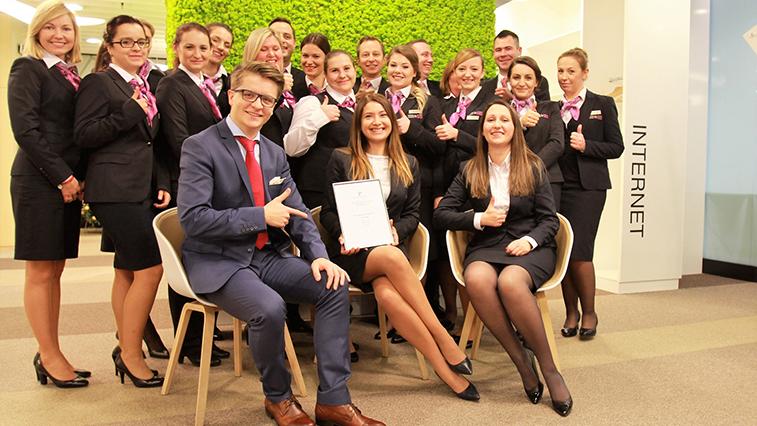 Warsaw Chopin business lounge award.