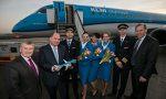 KLM returns to London City