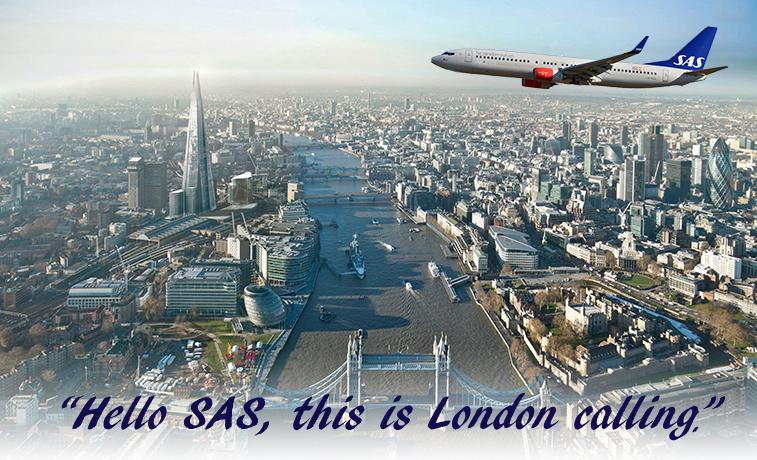 SAS to open London base