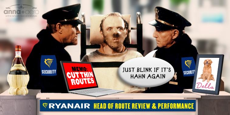 Ryanair route cuts