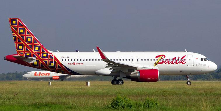 Batik Air operates almost 30 A320s