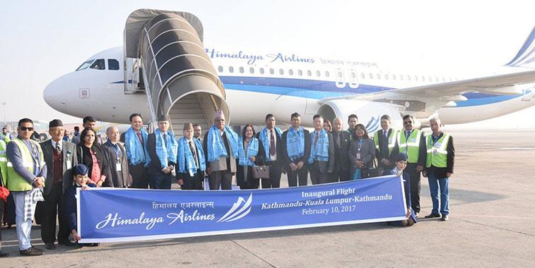 Himalaya Airlines launches Kathmandu to Kuala Lumpur service