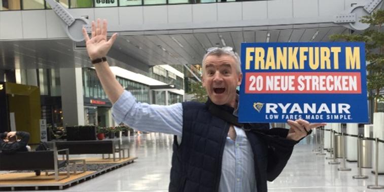 Ryanair Frankfurt winter expansion