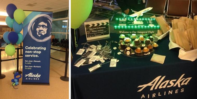 Alaska Airlines Burbank San Jose