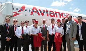 Avianca arrives at Iguassu Falls