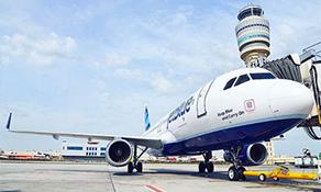 JetBlue Airways arrives in Atlanta