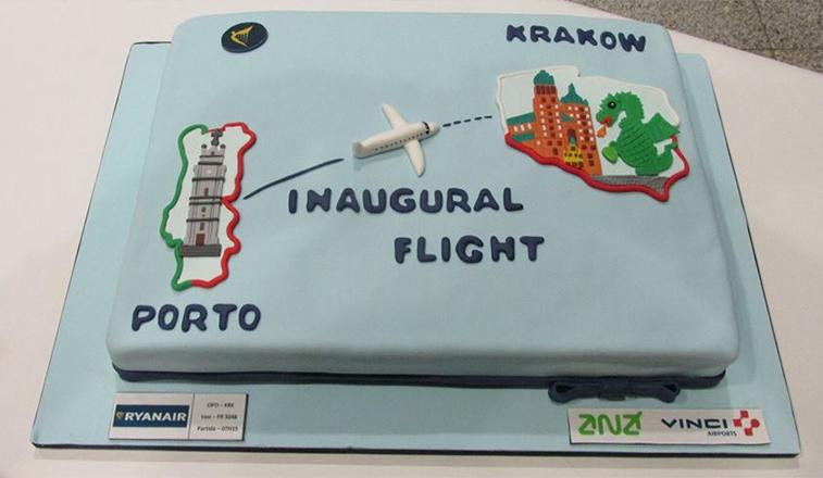 Ryanair Porto Krakow