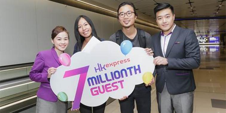 HK Express seven million passengers