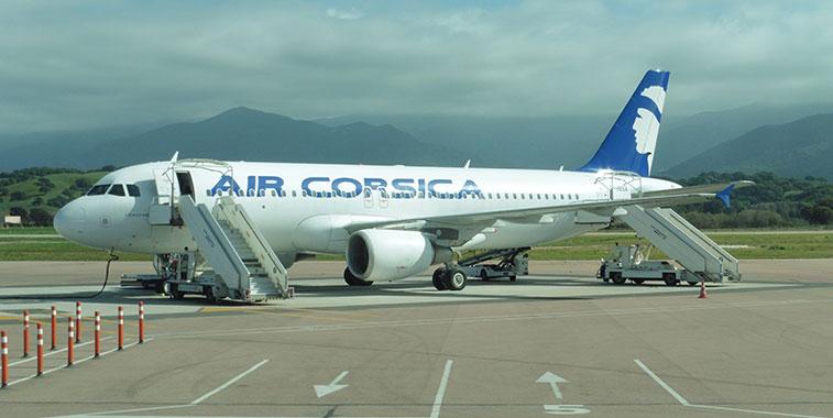Air Corsica A320 in Ajaccio