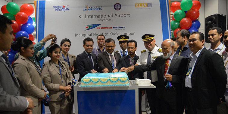 US-Bangla Airlines launches Dhaka to Kuala Lumpur service