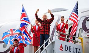 Virgin Atlantic Airways says hello to Seattle